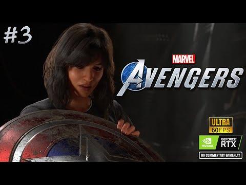 THE CHIMERA   MARVEL Avengers - PC GAME   Part 3 thumbnail