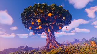 Yggdrasil - Building the World Tree Using WorldEdit Brush Tool - Minecraft Timelapse