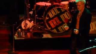 """One Breath Away (1st Time Live)"" Billy Idol@House of Blues Atlantic City 5/31/14"