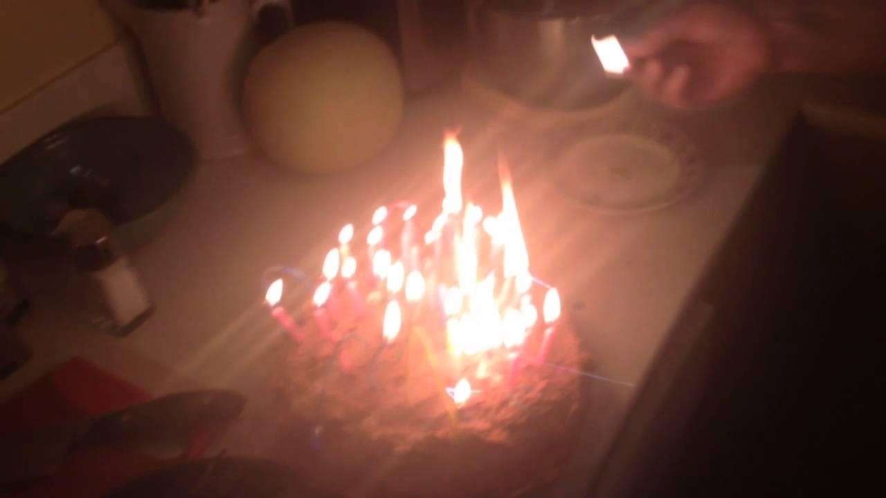 Birthday Cake Inferno