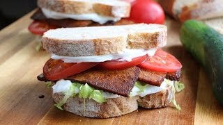 tofu bacon blt sandwich