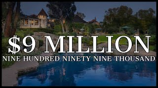 "$10,000,000 CASTLE | ""Disneyland"" inspired Mansion DRIPPING IN WEALTH ((6 beds, 11 baths))"