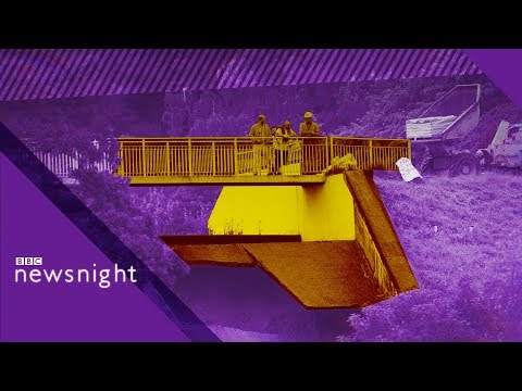 Whaley Bridge dam collapse: 'No shortage of funds' - BBC Newsnight
