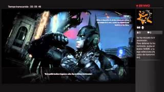 Transmisión de PS4 Batman Arkham knight