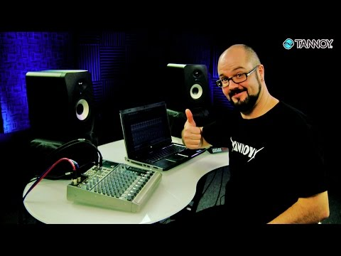 Positioning and Setting up Your Studio Monitors – Tannoy Studio Monitor 101 Tutorials