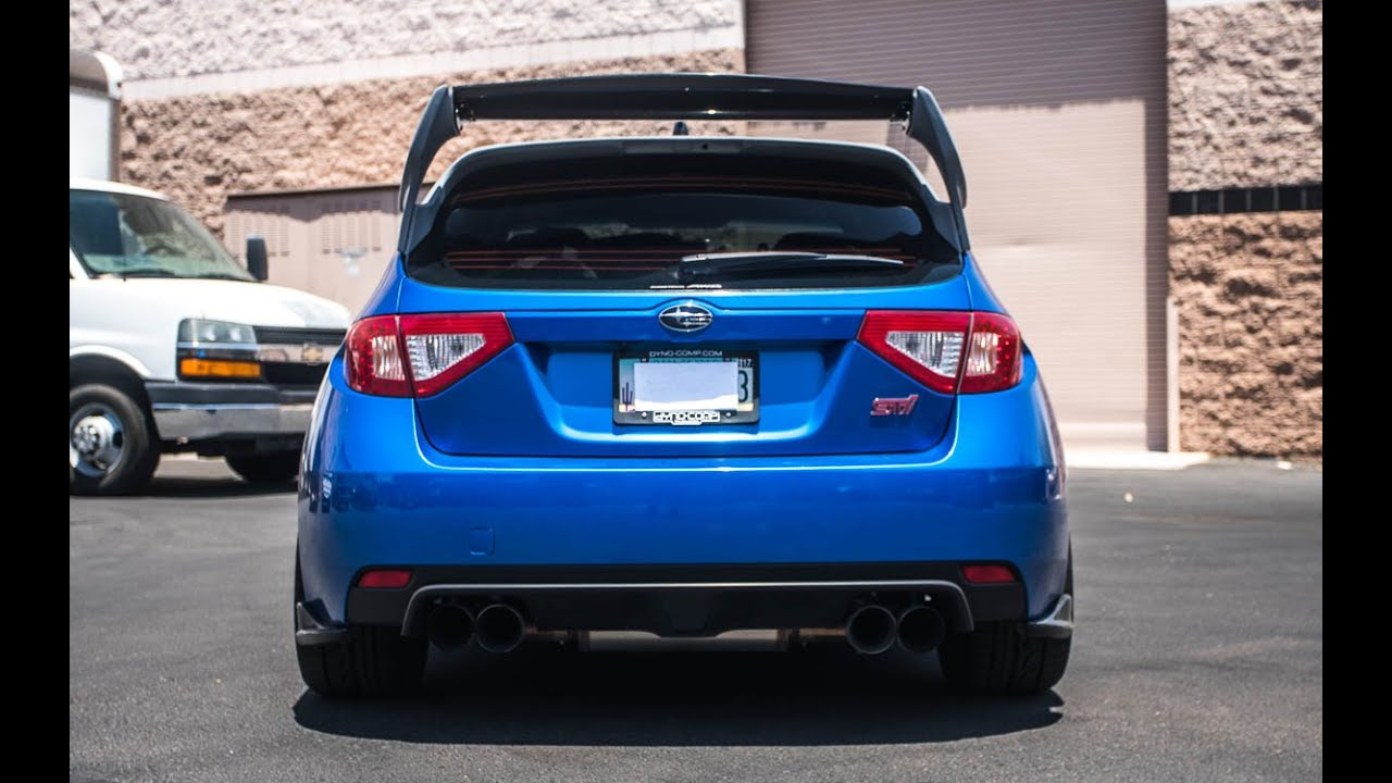 Subaru Wrx Sti Hatchback With Carbon Fiber Rally Wing From Agency
