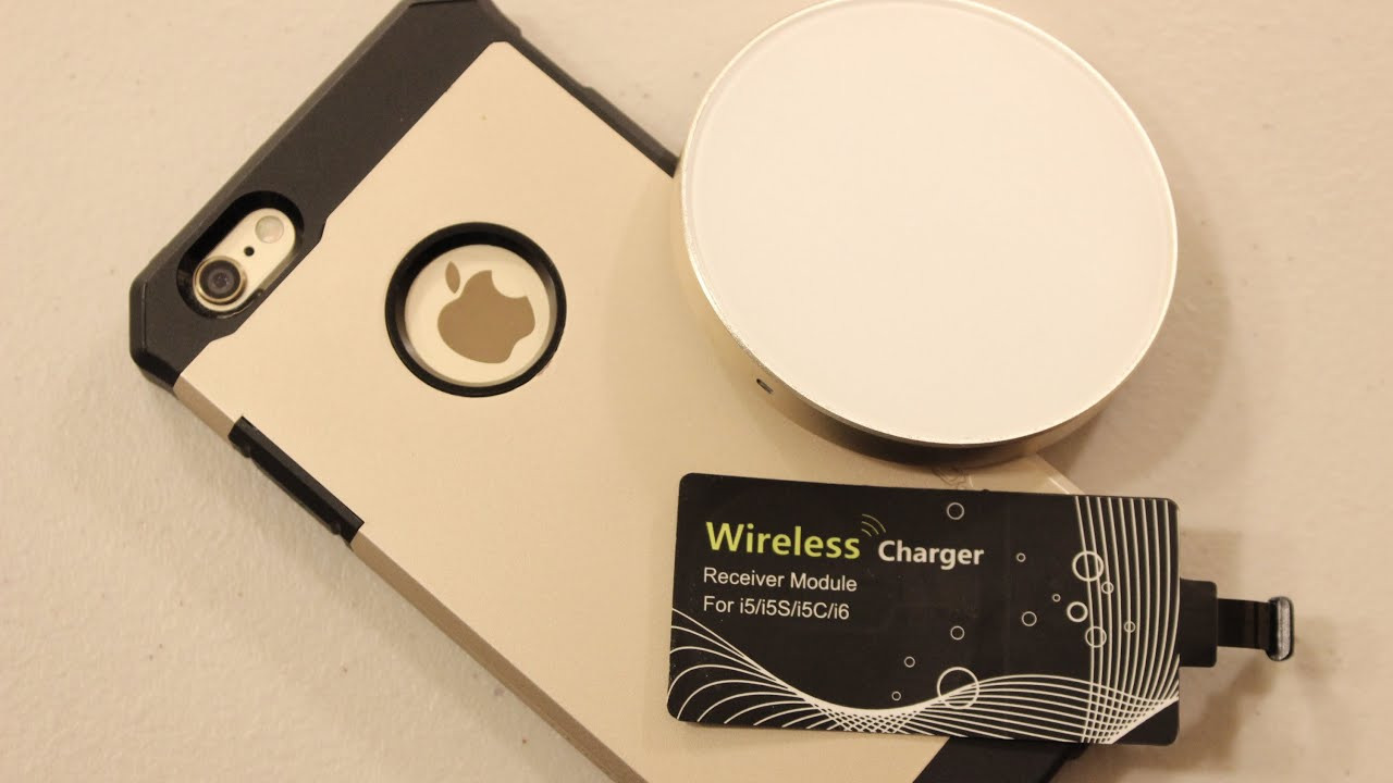 wirelessly charge your iphone 6 6s youtube. Black Bedroom Furniture Sets. Home Design Ideas