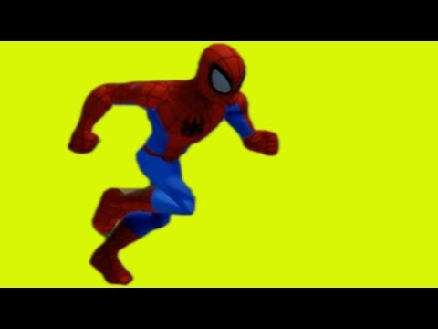 SPIDERMAN IS RUNING