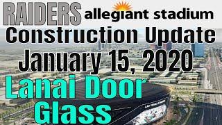 Las Vegas Raiders Allegiant Stadium Construction Update 01 15 2020
