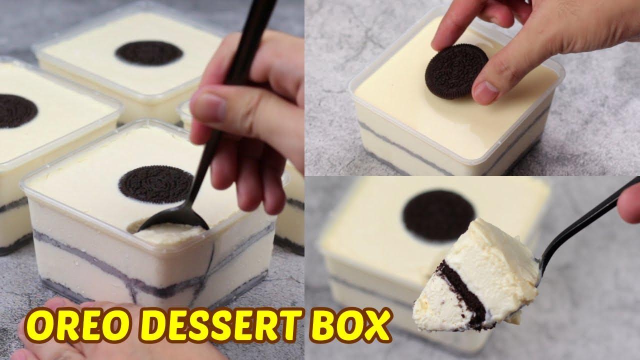 Oreo Ice Cream Dessert Box! [ 4 Ingredients ]