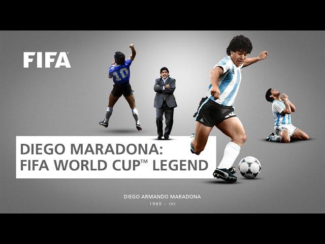 Diego Maradona | FIFA World Cup Legend
