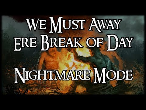 We Must Away, Ere Break of Day (Nightmare) – Two Players – Lord of the Rings LCG