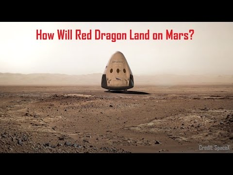 How Will Red Dragon Land on Mars?