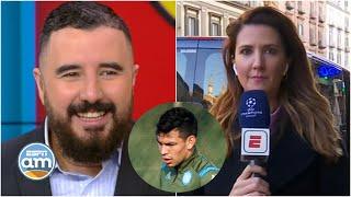 NAPOLI vs BARCELONA. Lo último del CHUCKY Lozano previo a la ida de 8vos en Champions | ESPN AM