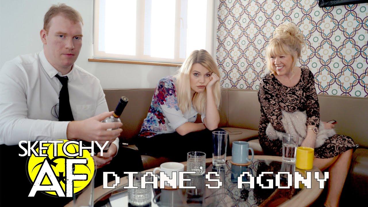Sketchy AF: Diane's Agony