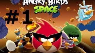-Angry Birds Space- Walkthrough Gameplay part 1 (pc) HD