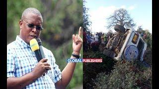 BREAKING NEWS: NAPE NAUYE Anusurika Kifo Baada Ya Ajali