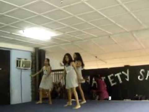 Anuja, Swapna & Nitya at Talent hunt  English International school Kinshasa D R Congo