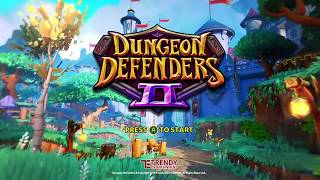 Free to play game Dungeon Defenders II Review out on Xbox one, PS4, PC. first look at this new game