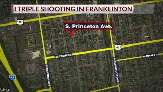 Three people shot in Franklinton