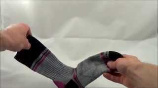 Fox River Peak Series Skyline Womens Crew Hiking Sock