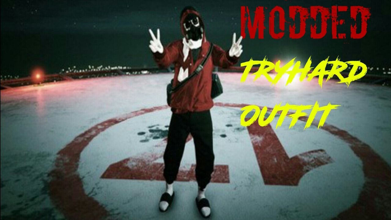 GTA 5 ONLINE How To Create A Modded Tryhard Outfit - YouTube