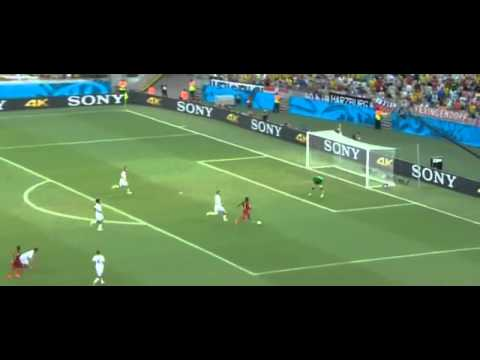 All Goals Germany vs Ghana 2-2   World Cup 2014
