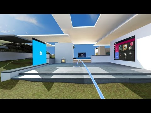 Windows Mixed Reality – Using the Cliff House