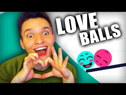 IN DIESEM SPIEL VERLIEBEN SICH 2 BÄLLE !! | Love Balls