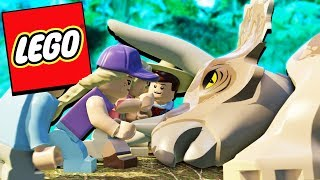 Welcome to LEGO Jurassic World! In this first part we transfer a ra...