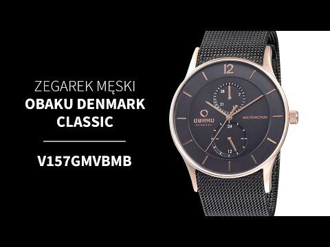Zegarek Obaku Denmark Classic V157GMVBMB | Zegarownia.pl