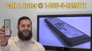 ONKYO RC791S CD Player Remote PN: RRMCGA222AWSA - www.ReplacementRemotes.com