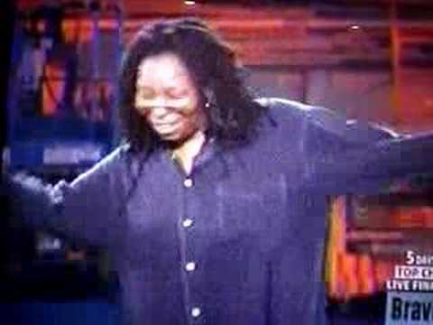 Whoopi Goldberg at Bravo - Bat Joke