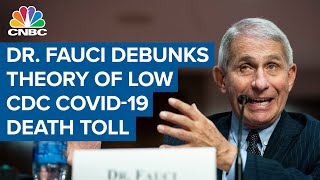 Dr. Fauci debunks theory of low CDC Covid-19 death toll: U.S. has over 183,000 Covid-19 death