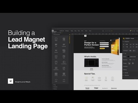 [Weby'nar] Building a Lead Magnet Landing Page