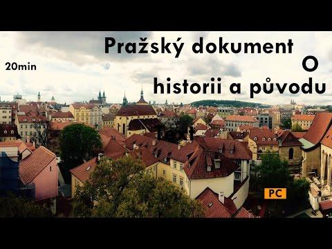 Český dokument o historii a původu Prahy