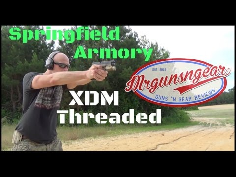 Springfield Armory's XDM 4.5″ Threaded Barrel Handgun Review (HD)