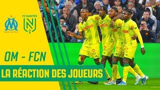 VIDEO: OM - FC Nantes : la réaction des joueurs