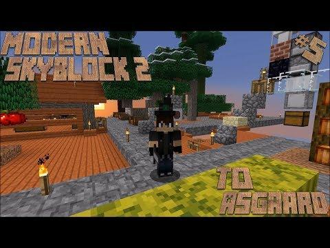 Minecraft Modern Skyblock 2 Lp Ep #5: A Little Dash of RF