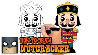 How to Draw a Nutcracker | Holiday Drawing Lesson