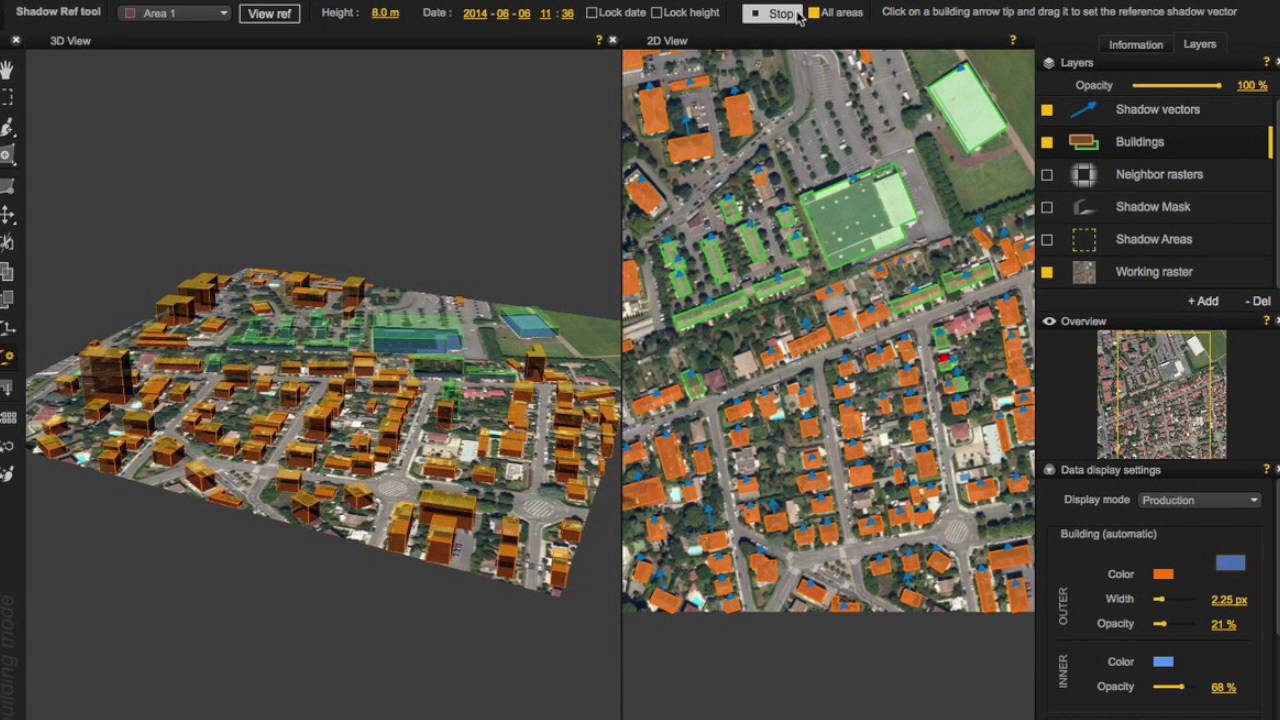 Digibati – Extracting buildings from single imagery | GAIDDON Software