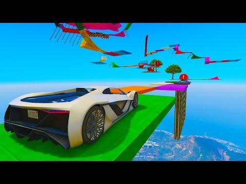 PRIMER PARKOUR! COCHE DEL FUTURO!! - CARRERA GTA V ONLINE - GTA 5 ONLINE