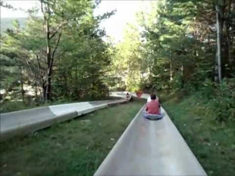 Alpine Slide - POV - Attitash Mountain Resort, NH