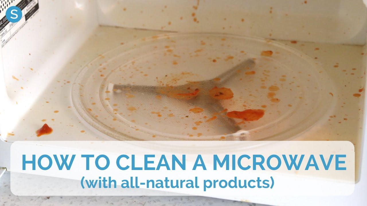 the best way to clean a microwave with all natural products simplemost youtube. Black Bedroom Furniture Sets. Home Design Ideas