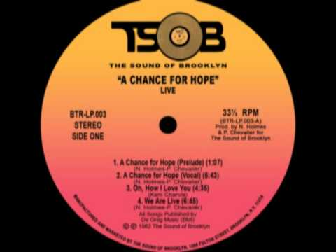 Live Band_A Chance For Hope