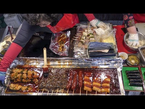 Korean Street Food Tour at Dongdaemun Night Food Market, Seoul