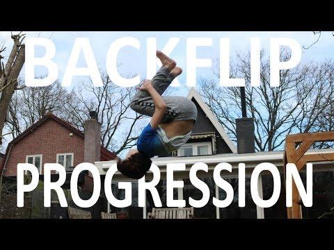 Backflip Progression   1 Day (Ground)