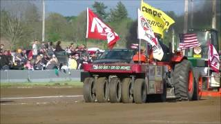 8,500LB STOCK DIESEL 2016 MATT CALLAND TRUCK AND TRACTOR PULL MAY 21, 2016