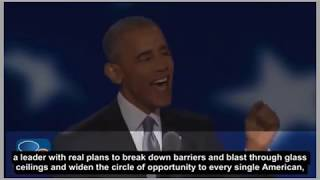 learn English  by  conversations and topics | President Obama With subtitle