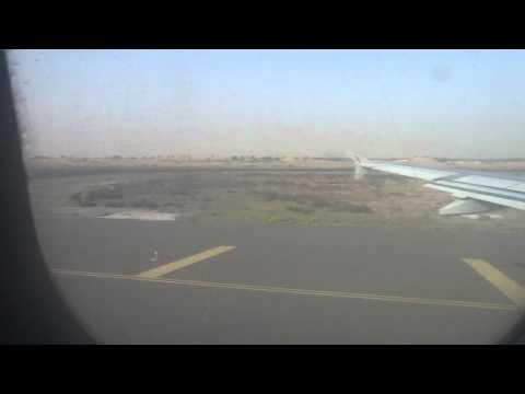 airarabia Landing in sharjah international airport